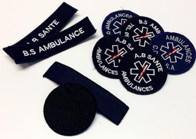 Badges Brodés Scratch Velcro