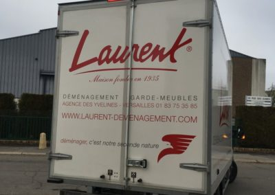Decor lettrage camion