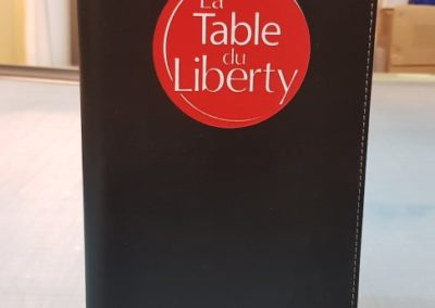 Serigraphie porte carte des vins