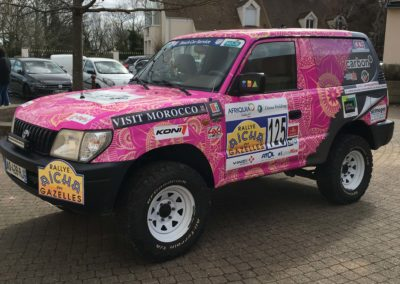 RALLYE DES GAZELLES - Total Covering